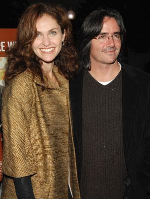 Amy Brenneman and Brad Silberling , director at the Los Angeles premiere of THINKFilm's 10 Items or Less