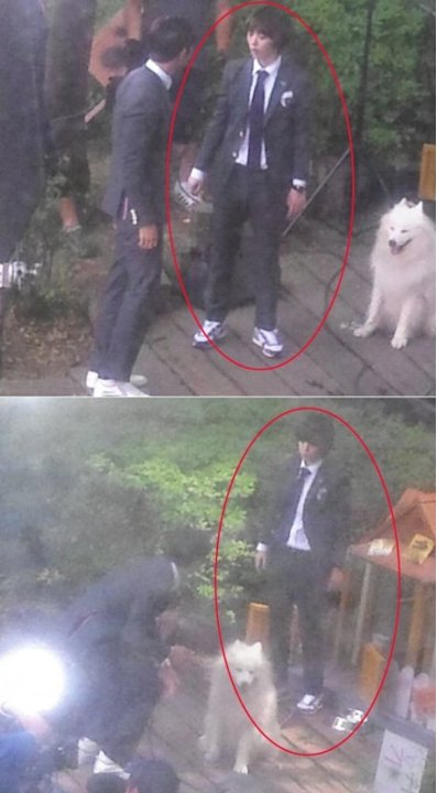 Sulli perfectly transforms into a male high school student