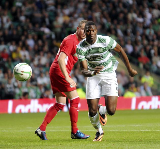 Soccer - UEFA Champions League - Second Round Qualifier - Second Leg - Celtic v Cliftonville - Celtic Park