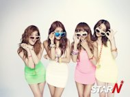 SISTAR's 'Loving U' dominating in various music charts