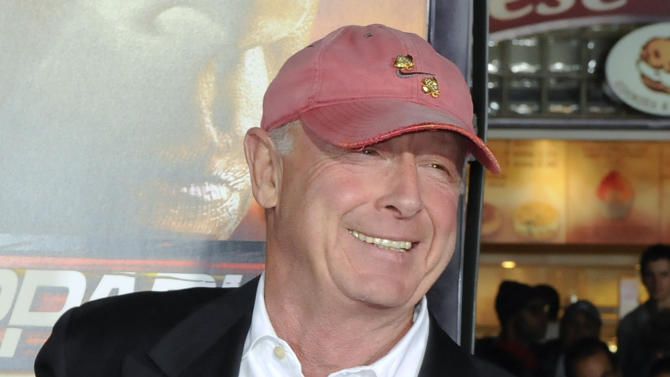 "FILE - In this Oct. 26, 2010 file photo, director Tony Scott arrives at the premiere of ""Unstoppable"" in Los Angeles. Authorities say Scott died after jumping off a bridge in Los Angeles on Sunday, Aug. 19, 2012. (AP Photo/Gus Ruelas, File)"