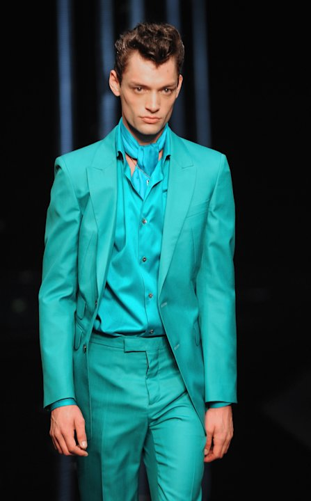 Roberto Cavalli: Runway - Milan Fashion Week Menswear Spring/Summer 2013