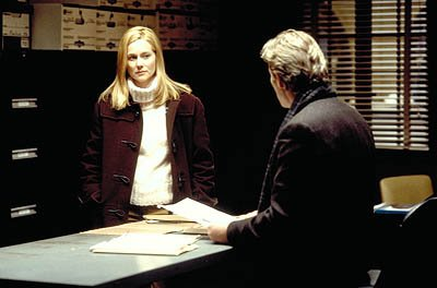 Laura Linney and Richard Gere in Screen Gems' The Mothman Prophecies