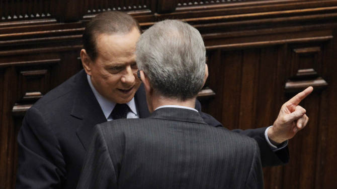 Italy's PM says he intends to quit over crisis