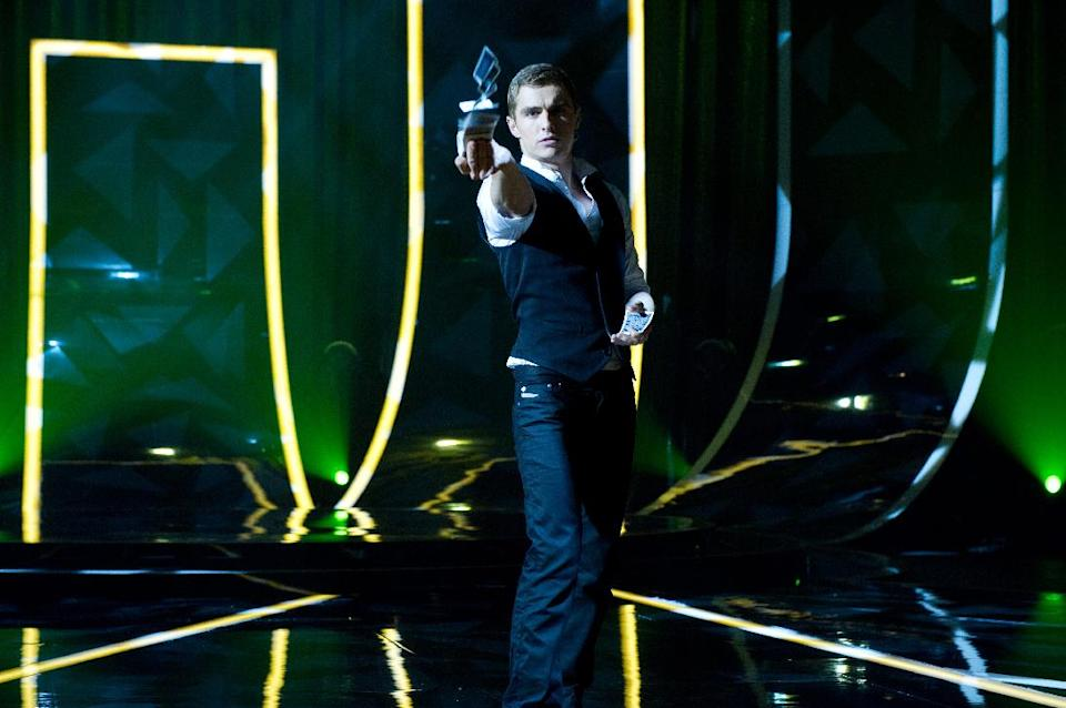 "This film image released by Summit Entertainment shows Dave Franco in a scene from ""Now You See Me."" (AP Photo/ Summit Entertainment, Barry Wetcher)"