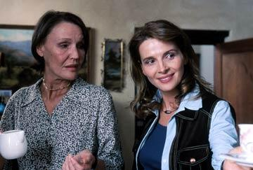 Aletta Bezuidenhout and Juliette Binoche in Sony Pictures Classics' In My Country