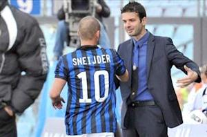 Sneijder highly motivated to return from injury, says Stramaccioni