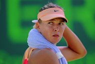 Tennis diva Maria Sharapova, pictured in March 2012, says she is relishing making her Stuttgart debut as the clay-court season gets under way with the statuesque Russian up against all four grand slam winners