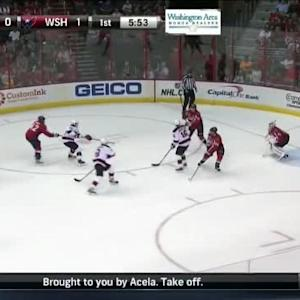 Braden Holtby Save on Tuomo Ruutu (14:09/1st)