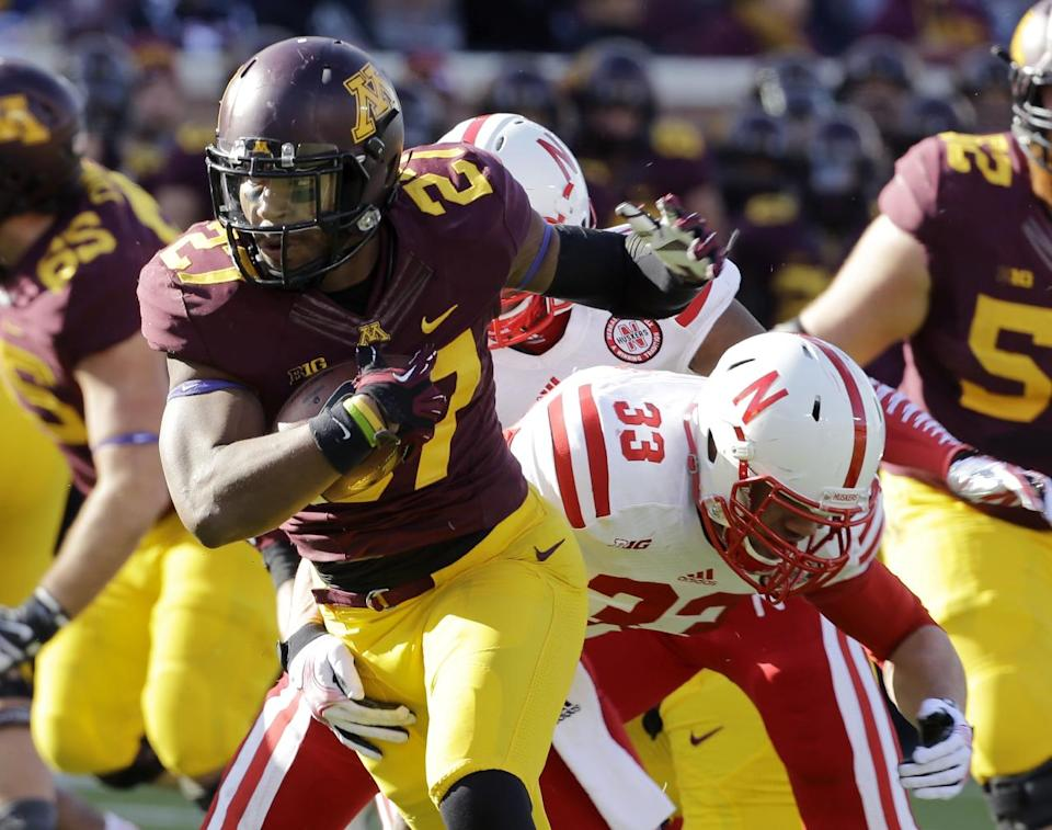 Minnesota upsets No. 25 Nebraska 34-23