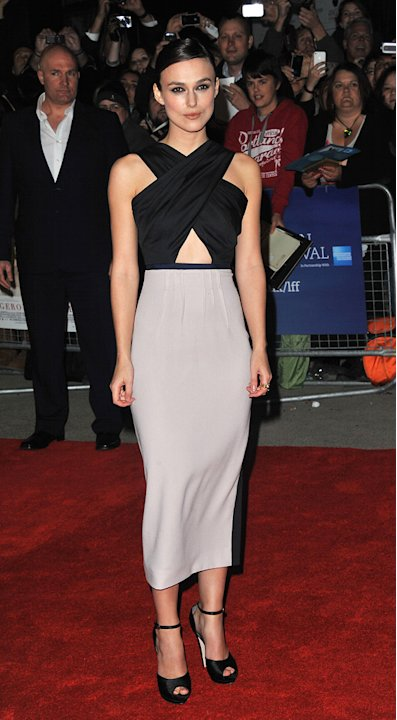 55th Annual London BFI Film Festival 2011 Keira Knightley