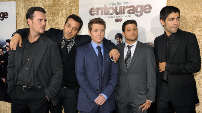 Hug it out: Creator says 'Entourage' movie is a go