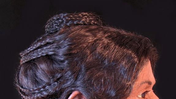 Egyptian Mummy's Elaborate Hairstyle Revealed in 3D