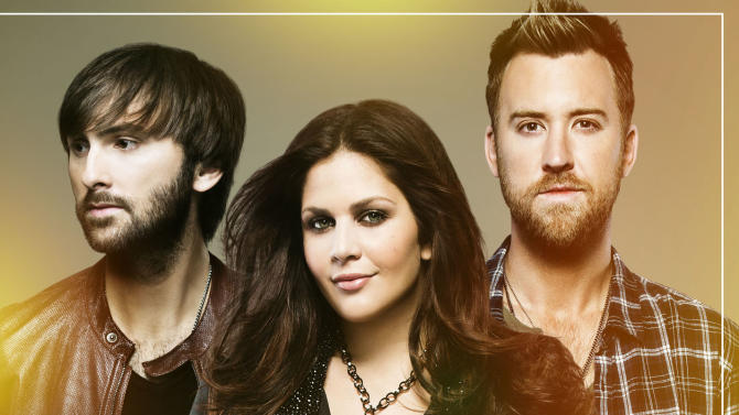 """This CD cover image released by Capitol Nashville shows """"Golden,"""" the latest album by Lady Antebellum. (AP Photo/Capitol Nashville)"""
