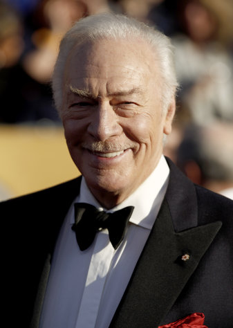 Christopher Plummer arrives at the 18th Annual Screen Actors Guild Awards on Sunday Jan. 29, 2012 in Los Angeles. (AP Photo/Matt Sayles)
