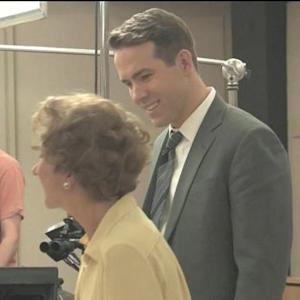 EXCLUSIVE: Watch Ryan Reynolds Gush Over Helen Mirren in 'Woman in Gold'