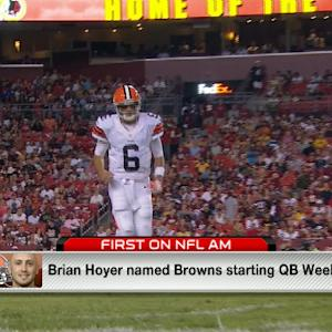Kinkhabwala: Cleveland Browns QB Brian Hoyer ready to lead this team