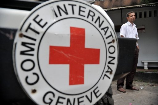 <p>An ICRC official is seen in Colombia. The International Committee of the Red Cross appealed for $1.2 billion (967.5 million euros) to cover its humanitarian activities next year, but acknowledged that many donors were feeling the impact of the economic slowdown.</p>