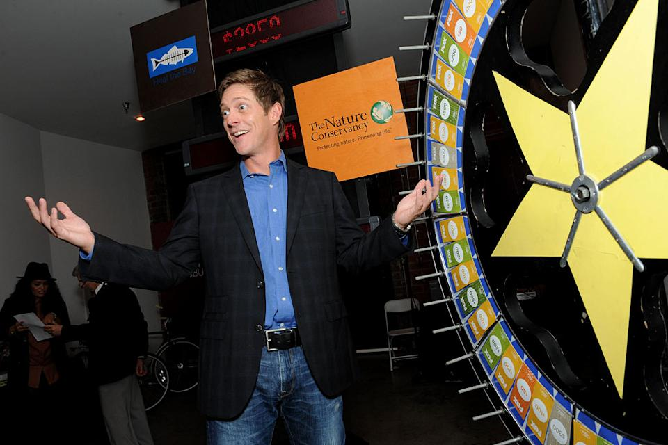 "Kevin Rahm of ""I Hate My Teenage Daughter"" spins the wheel for charity at the 2011 Fox Fall Eco-Casino Party at The BookBindery on September 12, 2011 in Culver City, California."