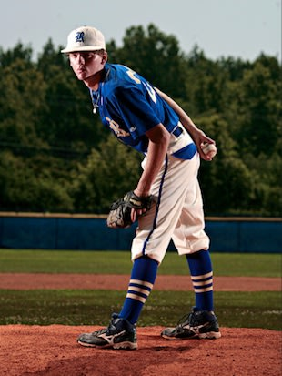 Riverside pitcher Stephen Gant &#x002014; Aaron Hardin/Jackson Sun