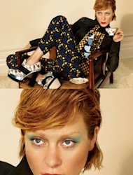 Chloe Sevigny fronts up the Miu Miu AW12 campaign. Its another one with edge!