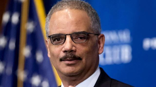 Outgoing Attorney General Eric Holder: U.S. is winning against ISIS