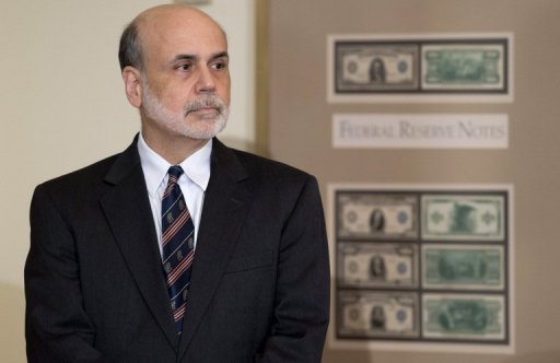 "<p>US Federal Reserve Chairman Ben Bernanke, pictured on August 7, called the US economic situation ""far from satisfactory"" but offered no new promises of central bank intervention.</p>"