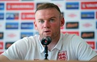 English forward Wayne Rooney gives a press conference at Andel's hotel in Krakow, two days ahead of the team's Euro 2012 football championships third match