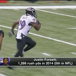 Should Baltimore Ravens keep or replace running back Justin Forsett?