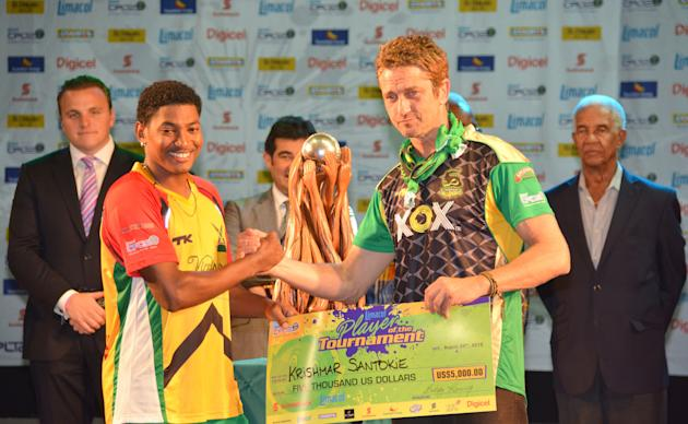 Guyana Amazon Warriors v Jamaica Tallawahs.
