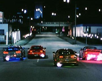 Vroom Vroom!  Race cars! Universal's 2 Fast 2 Furious