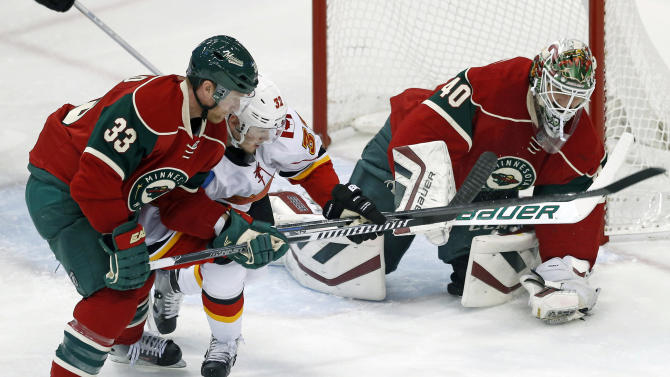 NHL Three Stars: Wild douse Flames; Atkinson tricks Chicago; Oi…