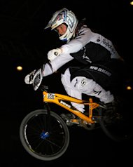 Young BikeNZ BMX group take up Supercross challenge