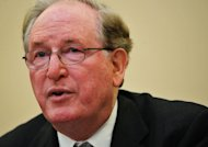 Chairman Senator Jay Rockefeller speaks during a hearing on March 1, 2012 on Capitol Hill in Washington, DC. Rockefeller, co-author of a pending cybersecurity bill, welcomed the executive order on cybersecurity and said it &quot;will improve the partnership between the government and the private sector needed to defend our country.&quot;