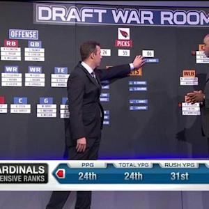 Draft War Room: Arizona Cardinals