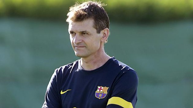 Barcelona head coach Tito Vilanova