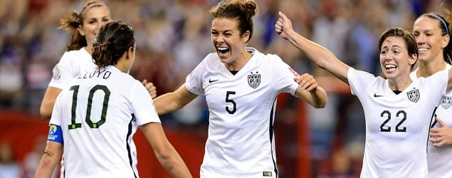 Victory propels U.S. women to World Cup final