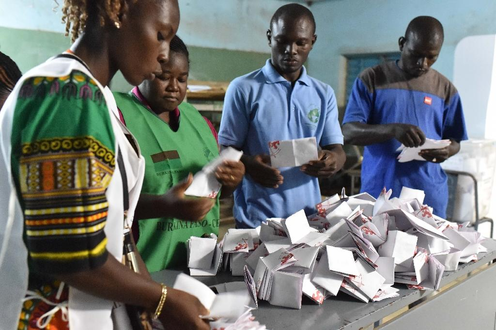 Burkina votes for new president after year of upheaval