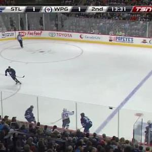 Ondrej Pavelec Save on Ian Cole (06:26/2nd)