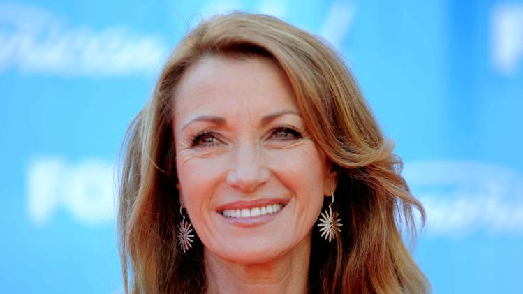 Jane Seymour arrives at the American Idol Finale on Wednesday, May 23, 2012 in Los Angeles. (Photo by Jordan Strauss/Invision/AP)