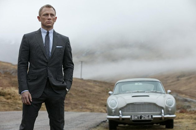 This film image released by Sony Pictures shows Daniel Craig as James Bond in &quot;Skyfall.&quot; Celebrating his 50th birthday, James Bond has been learning some new tricks _ but 3-D isn&#39;t one of them. Producers of the spy franchise say they have no interest in a making a Bond film in 3-D. The upcoming &quot;Skyfall&quot; is the first Bond film to be released since &quot;Avatar&quot; made 3-D a common and often lucrative practice for blockbusters. (AP Photo/Sony Pictures, Francois Duhamel)
