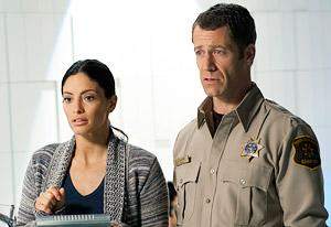 Erica Cerra and Colin Ferguson  | Photo Credits: Eike Schroter/Syfy