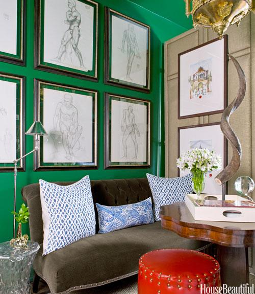 All-Green Apartment