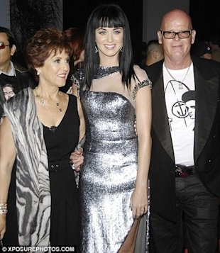 "katy perry and her parents ""Single, mature, blonde, fun loving landlady"" from SPARE ..."