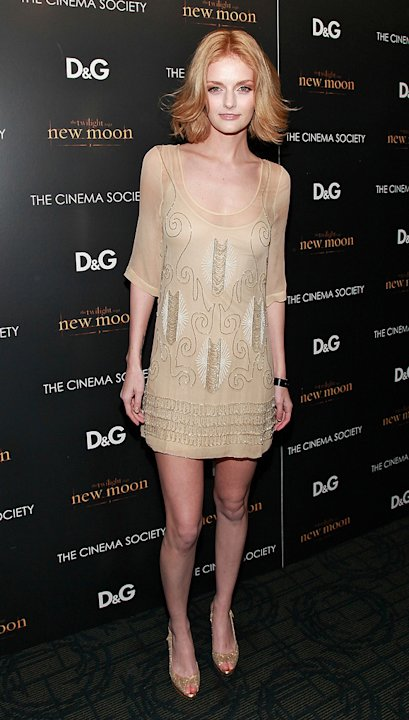 Twilight Saga New Moon NY Screening 2009 Lydia Hearst