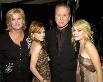 Director Dennie Gordon, Mary-Kate Olsen, Darrell Hammond, and Ashley Olsen Tribeca Film Festival, May 4, 2004