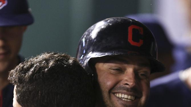 Nick Swisher Hug