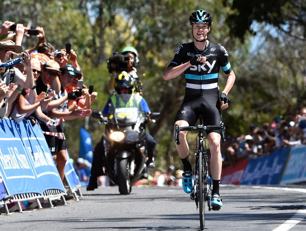 Froome wins stage 4, overall Australia tour