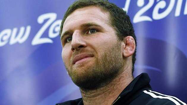 New Zealand forward Kieran Read