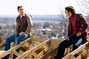 Matthew Fox and Matthew McConaughey in Warner Bros. Pictures' We Are Marshall